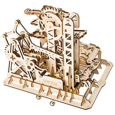 ROKR Marble Run 3D Wooden Puzzle